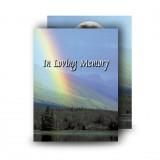 Rainbow Co Leitrim Standard Memorial Card