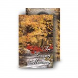 Autumn Scene Wallet Card