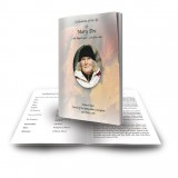 Autumn Leaves Funeral Book