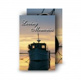 Boats at Sunset Co Waterford Wallet Card