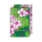Pink Primroses Wallet Card