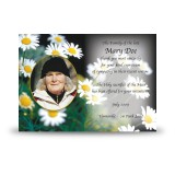 Daisies Acknowledgement Card