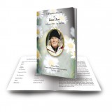 Daisies Funeral Book