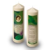 Purple Petunia Candle