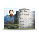 Castle Ruins Scotland Acknowledgement Card