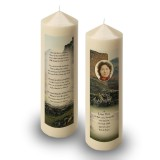 Castle Ruins Scotland Candle