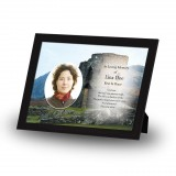 Castle Ruins Scotland Framed Memory