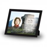 Castle Ruins Scotland Framed Memory