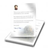Castle Ruins Scotland Thank You Letter