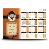 Lough Lomand Scotland Calendar Single Page