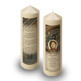 St Michaels Church Enniskillen Triangle Candle