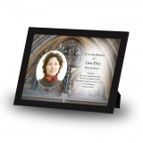 St Michaels Church Enniskillen Triangle Framed Memory