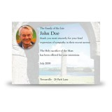Devenish Island Archway Co Fermanagh Acknowledgement Card