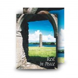 Devenish Island Archway Co Fermanagh Standard Memorial Card
