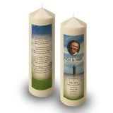 Devenish Island Co Fermanagh Candle