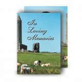 Devenish Island Co Fermanagh Standard Memorial Card