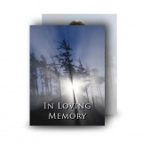 Tullymore Forest Co Down Standard Memorial Card