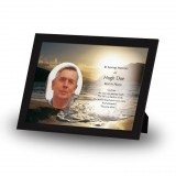 Golden Sea Shore Co Derry Framed Memory