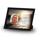 Golden Sea Shore Co Derry Framed Memory