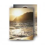 Golden Sea Shore Co Derry Standard Memorial Card