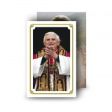 Pope Benedict Wallet Card