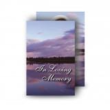 Lower Lough Erne Sunrise Co Fermanagh Wallet Card