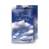 Sky Clouds Wallet Card