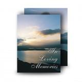 Sunlight Standard Memorial Card