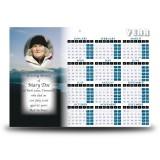 Sunlight Calendar Single Page