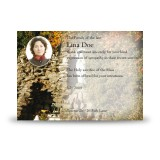 Graan Grotto Co Fermanagh Acknowledgement Card
