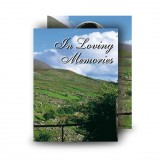 Field of Athenery Standard Memorial Card