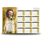 Wheat Co Carlow Calendar Single Page