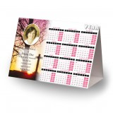 Cross & Tree Sunset Calendar Tent