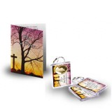 Cross & Tree Sunset Standard Package