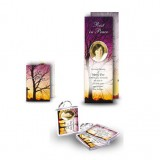 Cross & Tree Sunset Pocket Package