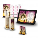 Cross & Tree Sunset Wall Package
