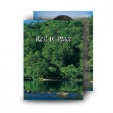 River & Trees Co Roscommon Standard Memorial Card