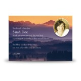Shades Of Blue Co Tyrone Acknowledgement Card