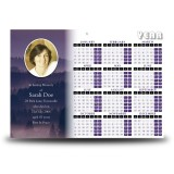 Shades Of Blue Co Tyrone Calendar Single Page