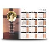 Cross Hill Calendar Single Page