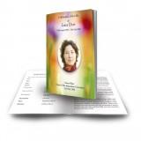 Poppy Flower Funeral Book