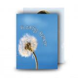 Dandelion Standard Memorial Card