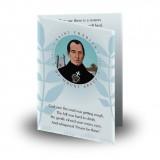 Saint Charles Folded Memorial Card