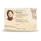 Our Little Angel Acknowledgement Card