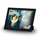 Blue Tulips Framed Memory