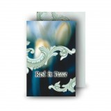 Blue Tulips Wallet Card