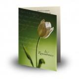 Serenity Folded Memorial Card