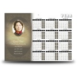 Decorative Links Calendar Single Page