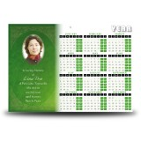 Endless Ties Calendar Single Page