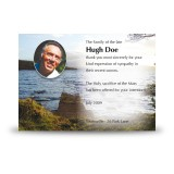Lough Erne Shore Co Fermanagh Acknowledgement Card